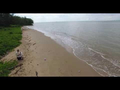 DJI Phantom 4 view of Balikpapan..Borneo..Indonesia..May 2017..