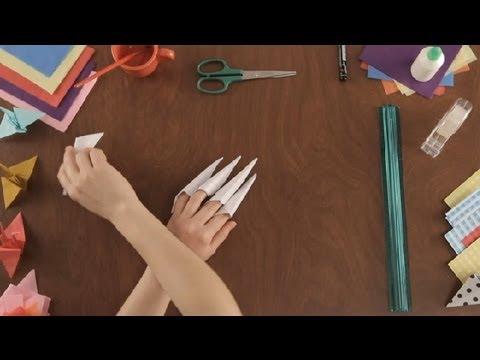 Como hacer garras de papel proyectos de arte en papel - Como hacer jarrones de papel ...