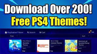Download over 200 FREE PS4 DYNAMIC THEMES from the Playstation Store! (Best PS4 Themes Free)