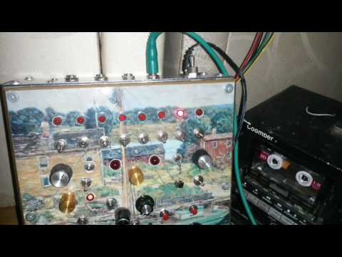 STE SPANDEX - DIY Drum Machine Test