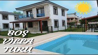 YENİ EVİMİZ !! | BOŞ EV TURU | Havuzlu Lüks Villa