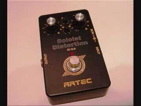 Artec Soloist Distortion Song Demo III