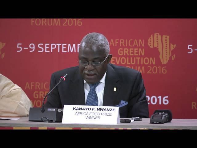 2016 Africa Food Prize Media Announcement