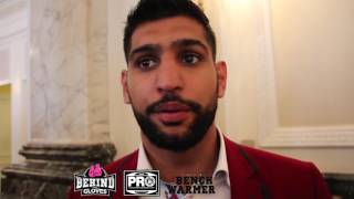 KHAN LOOKS TO RETURN TOWARDS THE END OF THE YEAR, SAYS PETERSON FIGHT IS A GOOD FIGHT FOR HIM