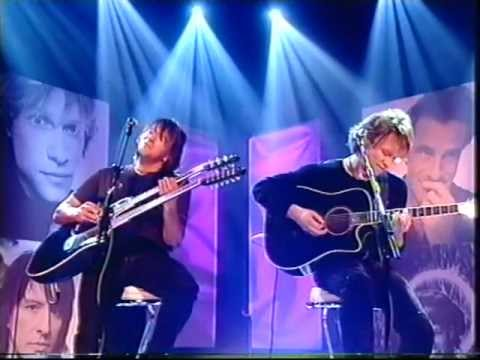Bon Jovi - Livin' On A Prayer (Acoustic Top Of The Pops II 2000)