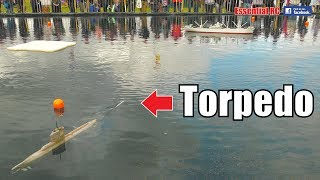AMAZING RC SUBMARINE TORPEDO FIRING/LAUNCH DEMONSTRATION