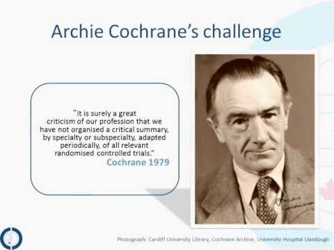 CCC Cochrane 101 - An Introduction to The Cochrane Collaboration