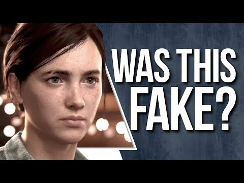 "The Last of Us 2 Trailer called ""FAKE"" 