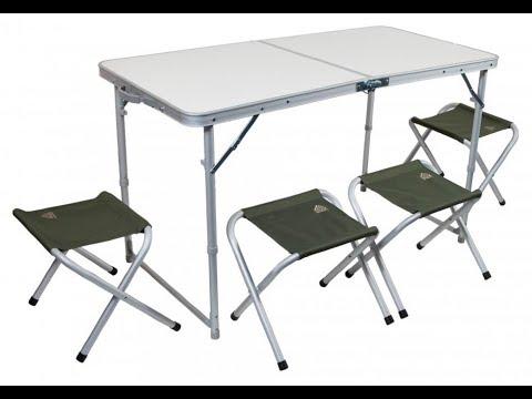 Набор мебели TREK PLANET EVENT SET 120 стол и 4 стула 70665