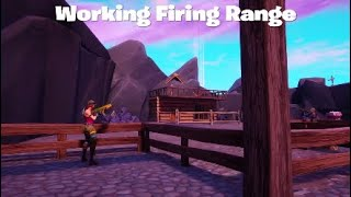 Working Firing Range *Fortnite Creative*