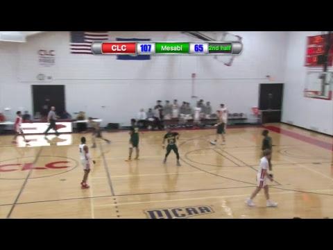 Central Lakes College Men's Basketball vs Mesabi 1/12/19