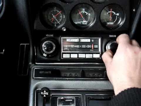 corvette 68-77 radio