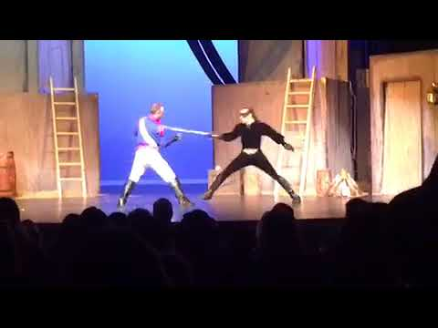 Zorro the Musical - Zorro vs Lt.