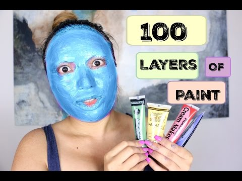Thumbnail: 100 Layers of Face Paint !!!