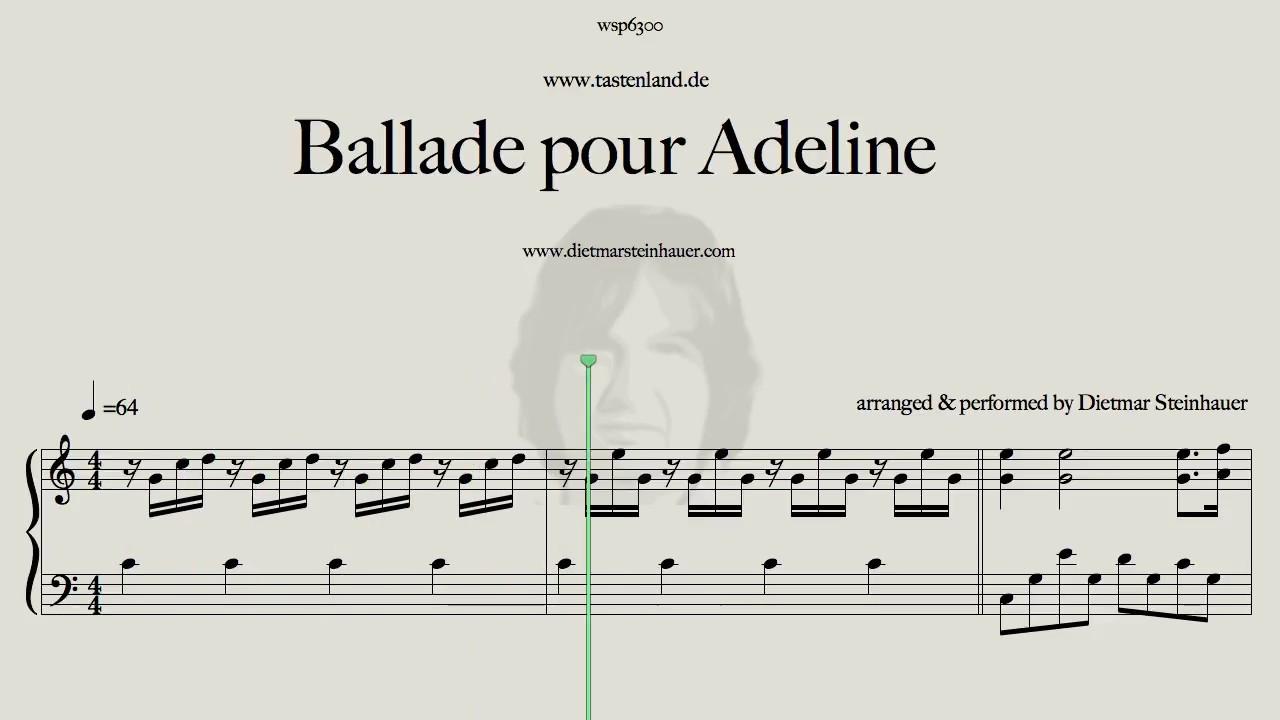 Ballade pour adeline youtube for Dietmar steinhauer