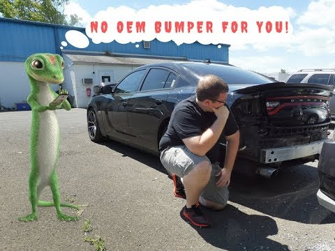 Insurance Company Doesn't Want To  Pay For My OEM Bumper On My Charger Scat Pack!!!