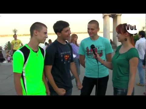 Танцевальный флешмоб  Волгоград , набережная  5.05.2012