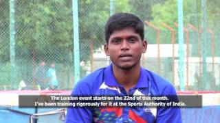 RIO 2016 Paralympic Games Gold Medalist - Mariyappan Thangavelu