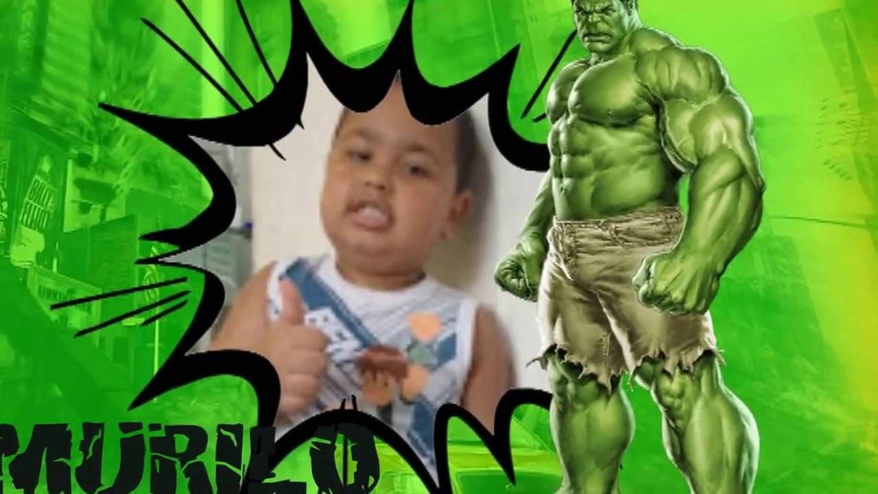 Convite Virtual Animado Incrivel Hulk Youtube