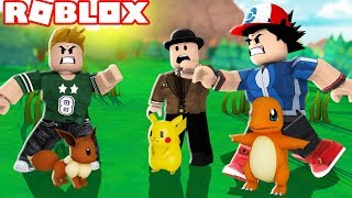 HOW TO BATTLE TRAINERS WITH YOUR FRIEND IN POKEMON ROBLOX! Callum plays Roblox Pokemon Brick Bronze