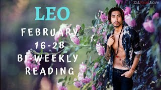 "LEO SOULMATE ""THE BIRTH OF DIVINE CONNECTION"" FEB 16-28 BI-WEEKLY TAROT READING"