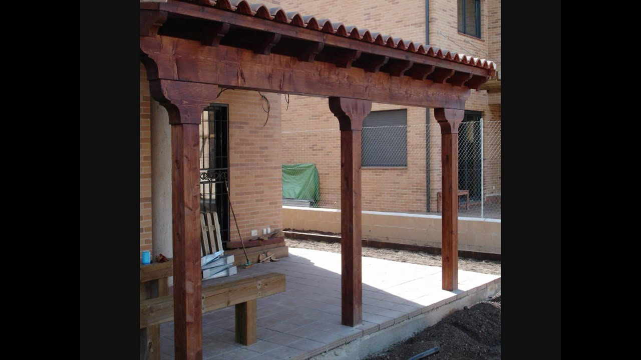 Porches y pergolas de madera youtube - Porches de madera en kit ...