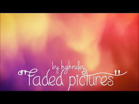 Faded Pictures - Official Lyrics Video