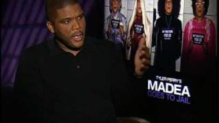 Tyler Perry Interview For Madea Goes To Jail