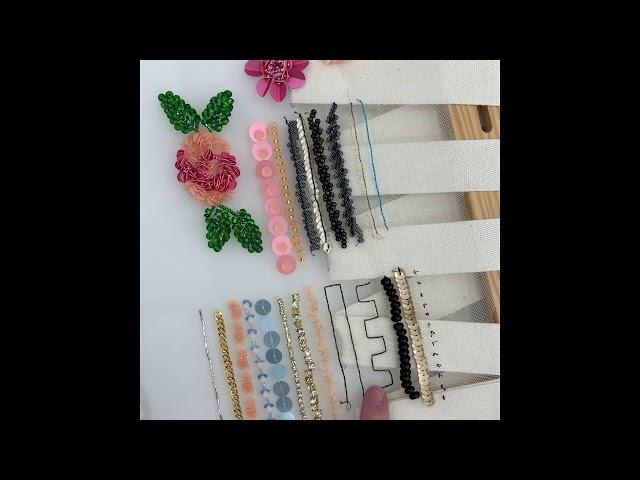 Видеокурс: Вышивка люневильским крючком