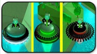 3 New Alien Ufos - Roblox Invasion Simulator