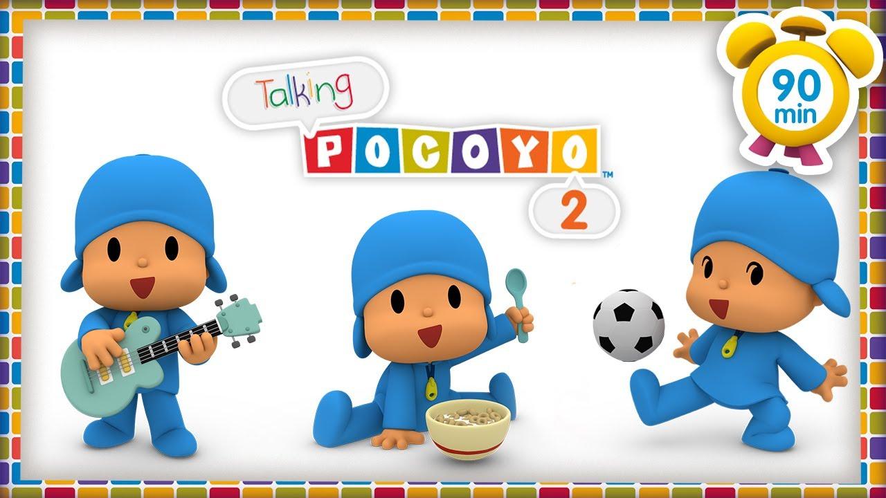🗣POCOYO in ENGLISH - Talking Pocoyo 2 Magic words [90 min] Full Episodes |VIDEOS & CARTOONS for KIDS