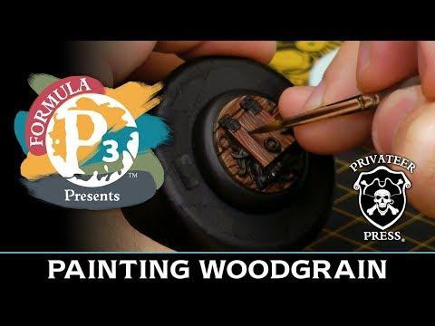 Formula P3 Presents: Painting Woodgrain