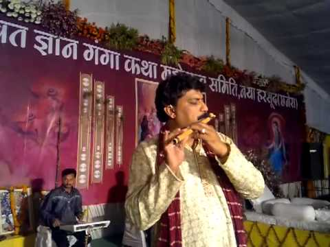 pankh hote to on flute in bhagwat by sunil sharma indore