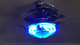 """52"""" Harbor Breeze Neon ceiling fan"""