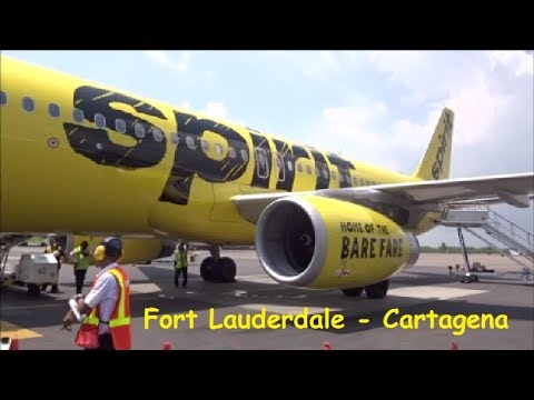 Fort Lauderdale USA - CARTAGENA | Vuelo Completo