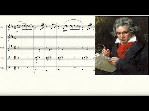 Für Elise for Brass Quintet Sheet Music