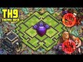 UNBEATABLE TH9 [Town Hall 9] Trophy Base! w/ Replays Anti Air, Anti Ground - Clash Of Clans Base