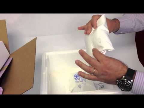 We Ship With Dry Ice For A Very Good Reason Youtube