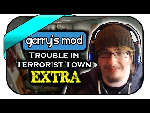 TROUBLE IN TERRORIST TOWN EXTRA #009 - LASER BEAM - Let's Play TTT - Dhalucard