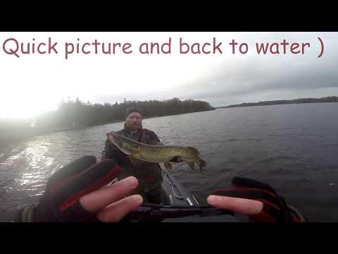 Pike Fishing - Lough Ramor, Ireland