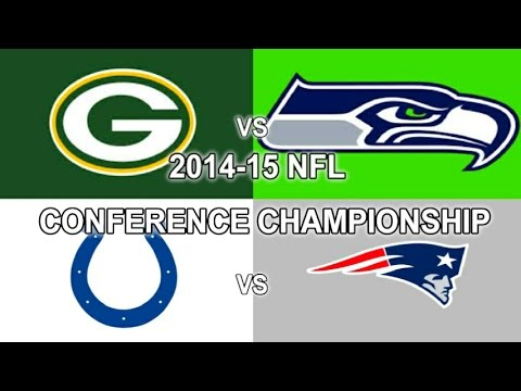 2015 NFL PLAYOFFS: CONFERENCE CHAMPIONSHIP Picks