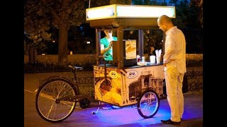 Прибыльный бизнес с минимальным вложением - Велокофейня, хот-доги, мохито, мороженое. Фото клиентов.