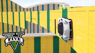GTA Online: O WALLRIDE MAIS IMPOSSÍVEL DE ADDER!! -Corrida ACROBÁTICA #9