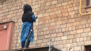 видео Гидрофобизация фасада, удаление высолов, чистка фасадов зданий в Спб