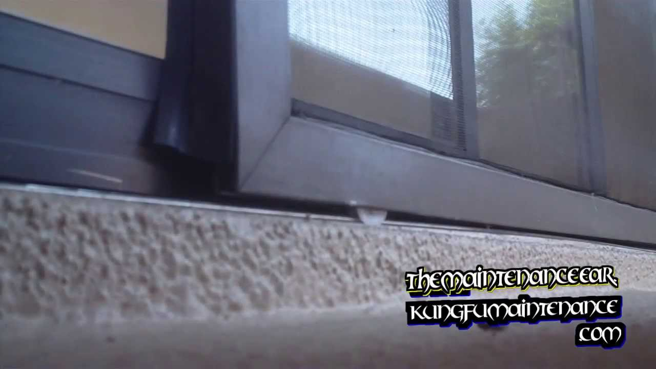 How To Remove Replace Plus Install Patio Slider Screen Door Tension