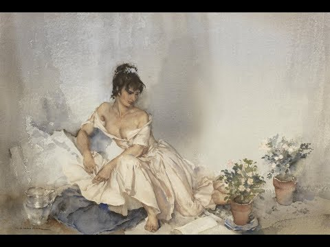 Sir William Russell Flint (1880-1969) Scottish artist ✽ Francis Goya / Scarborough fair