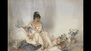 Sir William Russell Flint (1880-1969) Scottish artist ✽ Francis Goya / Scarborough fair