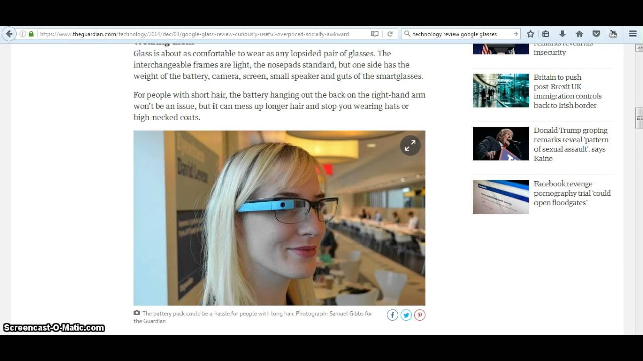 1b460cd69e70 Google Glass review useful – but overpriced and socially awkward ...