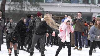 Repeat youtube video UBC Snowball Fight 2017