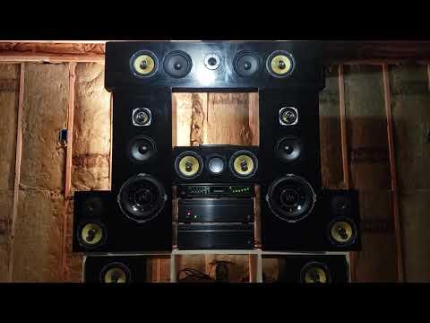 DIY 8 speaker setup music by Fkj & Masego